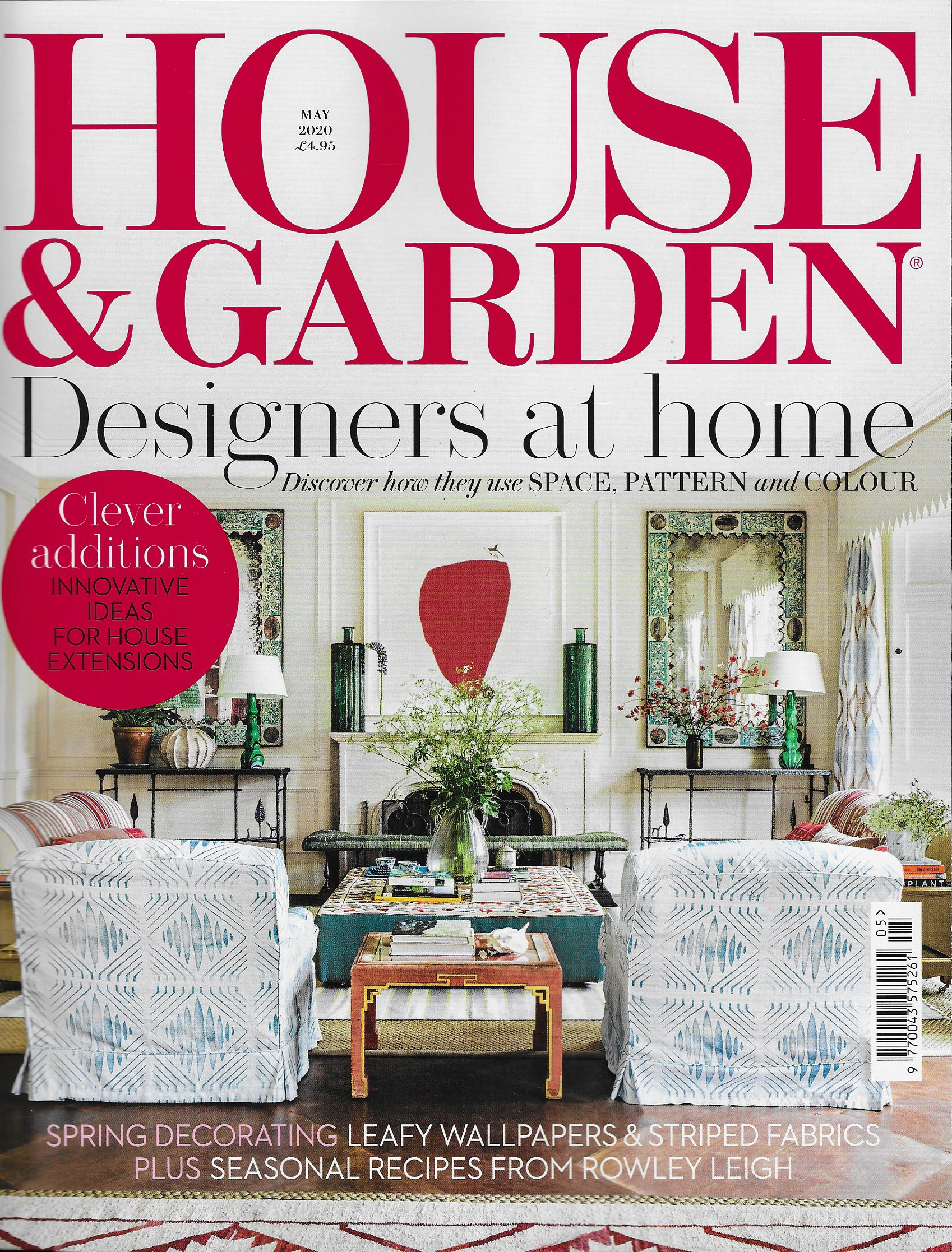 HOUSE & GARDEN UK - MAY 2020