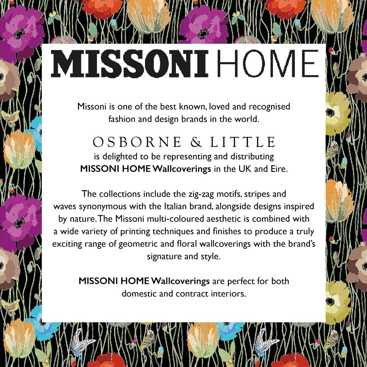 MISSONI HOME WALLCOVERINGS